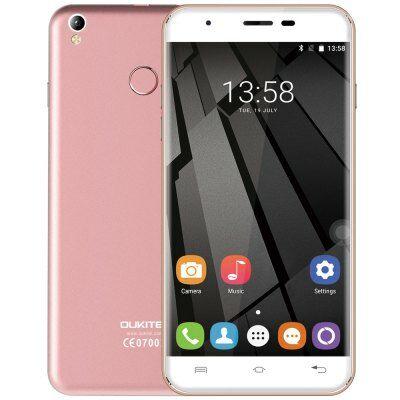 Oukitel U7 Plus 4G okostelefon - Pink