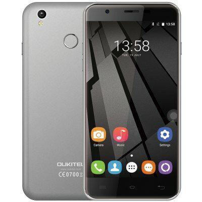 Oukitel U7 Plus 4G okostelefon - Szürke