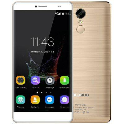 EU4 Raktár - Bluboo Maya Max 4G okostelefon - Arany