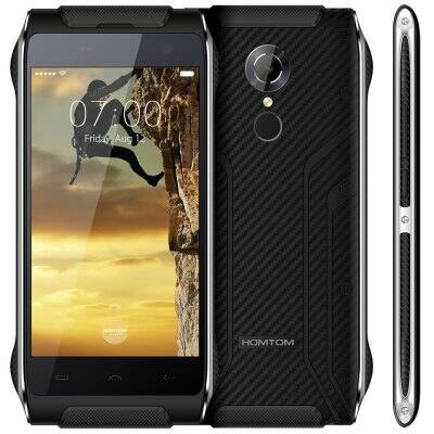 Homtom HT20 4G okostelefon - Fekete
