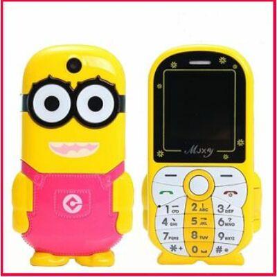 Honey Bee P173 Minyon formájú Dual Sim mobiltelefon - Sárga