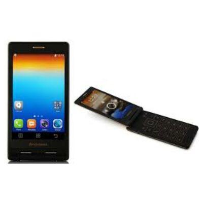 Lenovo A588T 4.0 TFT MTK6582 Android 4.4 flip mobiltelefon - Arany