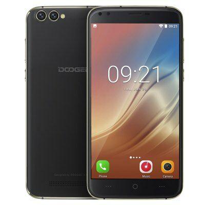 DOOGEE X30 3G okostelefon (HK) - Fekete