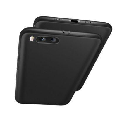 Xiaomi Mi 6 szilikon hátlapvédő tok - Fekete