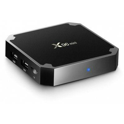 EU Raktár - X96 Mini Android 7.1.2 4K TV Box (ES) - 16GB - EU csatlakozó - Fekete