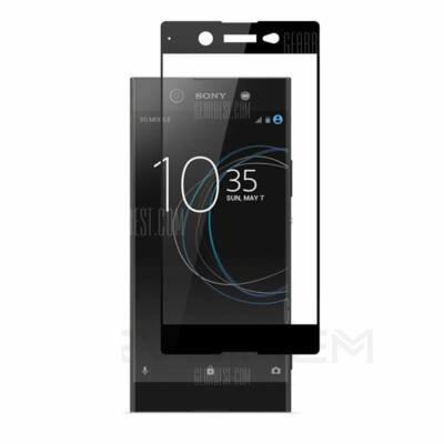 Naxtop Sony Xperia XA1 Ultra edzett üveg kijelzővédő (CN) - Fekete