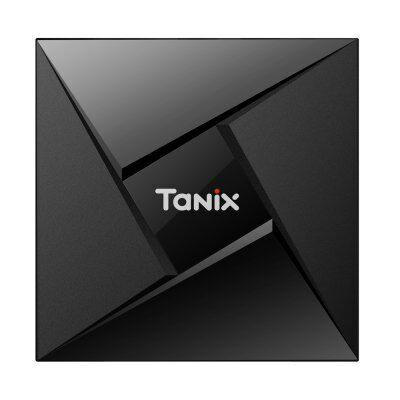 Tanix TX9 Pro Android 7.1 TV box - EU csatlakozó, Fekete