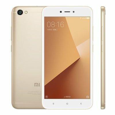 Xiaomi Redmi Note 5A 4G okostelefon (HK) - Arany