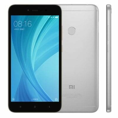 Xiaomi Redmi Note 5A 4G okostelefon (HK) - 64G, Ezüst