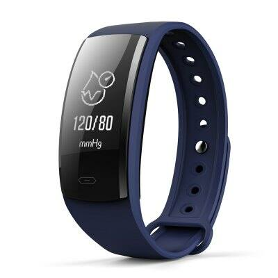 QS90 Bluetooth 4.0 okoskarkötő-Sötétkék