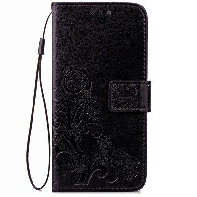Elephone P9000 műbőr védőtok - Fekete