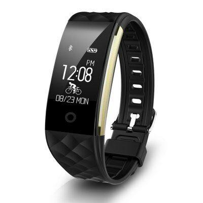 Fitness Tracker St10 IP67 okoskarkötő-Fekete