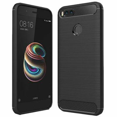Xiaomi Mi A1 szénszálas védőtok( HK2 ) - Fekete