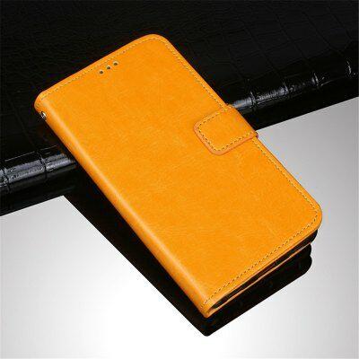 Crazy Horse Elephone P8 védőtok kártyatartóval - Sárga