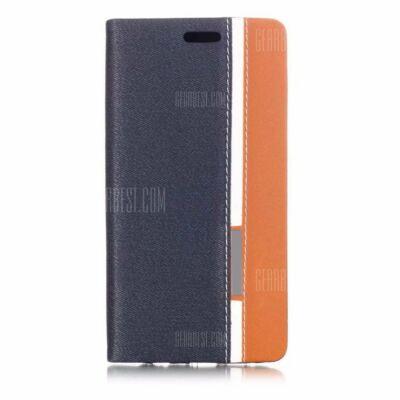 Huawei P20 Lite kevert színű védőtok kártyatartóval (HK2) - Mély kék