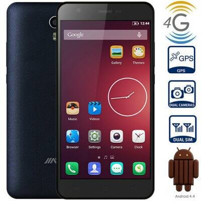 "Jiayu S3 5.5"" FHD IPS OGS Android 4.4 MTK6752 64bit 3GB RAM NFC 4G Phablet - Fekete"