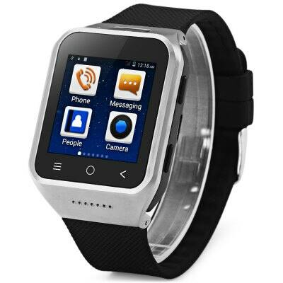 "ZGPAX S8 1.54"" Android 4.4 MTK6572 GPS 3G Okos karóratelefon - Ezüst"