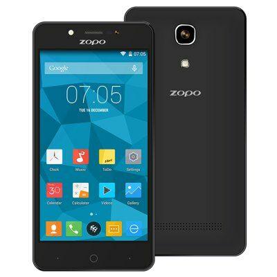 "ZOPO ZP350 5"" IPS HD Android 5.1 MTK6735 64bit 4G Okostelefon"