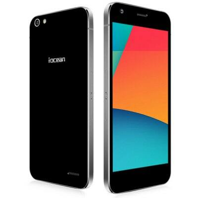 "iocean X9 5.0"" FHD Android 5.0 MTK6752 64bit 3GB RAM OTA 4G Okostelefon - Fekete"
