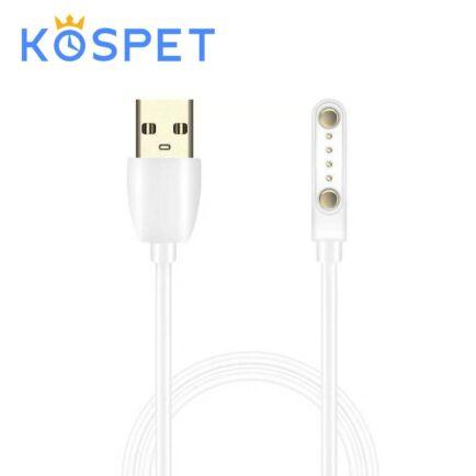 USB Töltő Kospet Hope Okosórához - Fehér