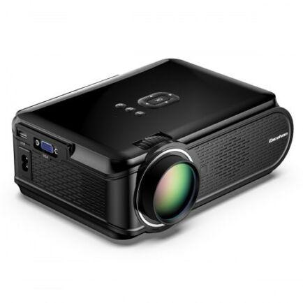EU ECO Raktár - Excelvan Mini LED Mini Hordozható Multimédia Projektor (US)