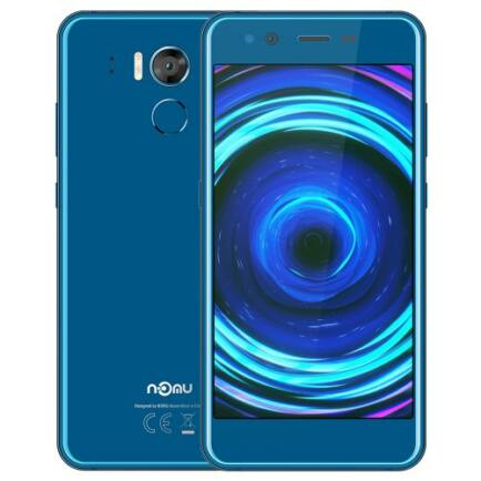 EU ECO Raktár - NOMU M8 4G Okostelefon 5.2 inch Octa Core 1.5GHz 4GB RAM 64GB ROM 21.0MP előlapi Camera - Kék