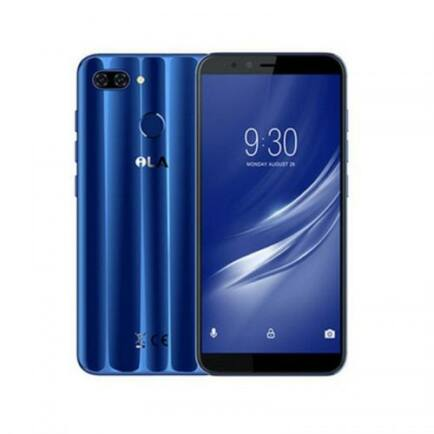 EU ECO Raktár - iLa silk Android 4G Okostelefon 5.7 inches IPS HD 4GB RAM 64GB ROM - Kék