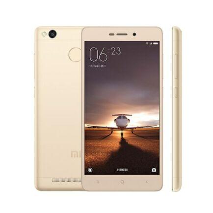 EU ECO Raktár - Xiaomi Redmi 3s Dual SIM 5.0 inches Android 6.0.1 Octa-core 1.4 GHz 4100mAh Okostelefon 3GB RAM 32GB ROM - Arany