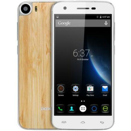 EU4 Raktár - DOOGEE F3 Pro 4G okostelefon - Világos fa mintás
