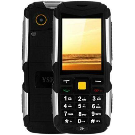 EU ECO Raktár - YSFEN M12 2.4 Kártyafüggetlen 3 SIM Strapabíró GSM Mobiltelefon