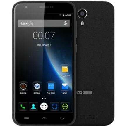 EU4 Raktár - DOOGEE Y100 Plus 4G okostelefon - Fekete