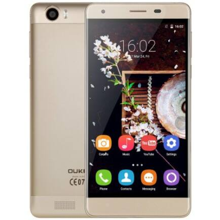 OUKITEL K6000 4G okostelefon HK - Arany