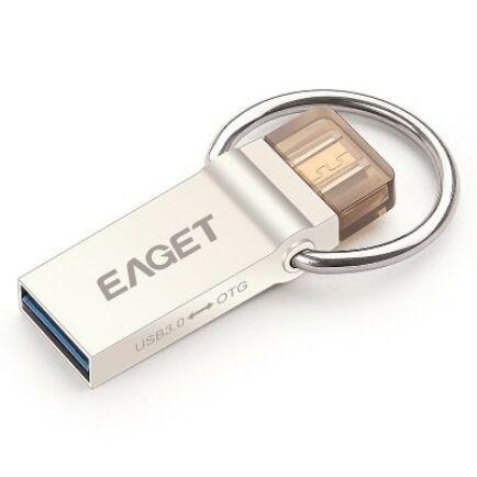 EAGET V90 USB 3.0 64GB OTG Támogatott Pendrive Okostelefonokhoz és Táblagépekhez
