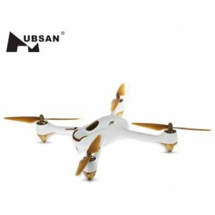 Hubsan H501S X4 kefe nélküli drón - EU csatlakozó - Fehér