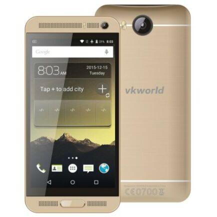 VKWORLD VK800X 3G okostelefon - Arany