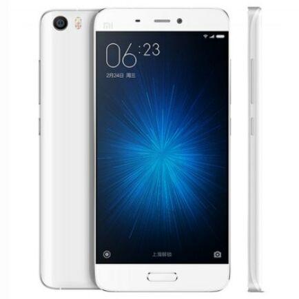 EU ECO Raktár - XiaoMi Mi5 4G okostelefon - 3GB+32GB Fehér