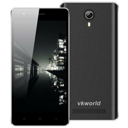 VKworld F1 3G okostelefon EU csatlakozó - Fekete
