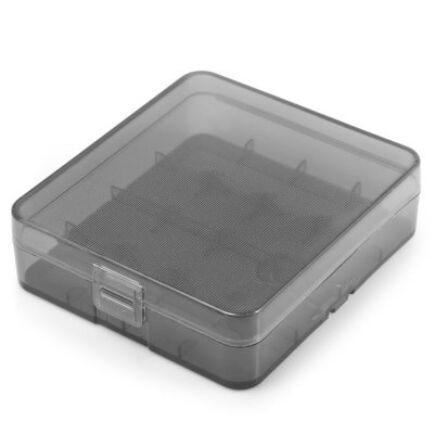 18650 elem tartó doboz -Szürke