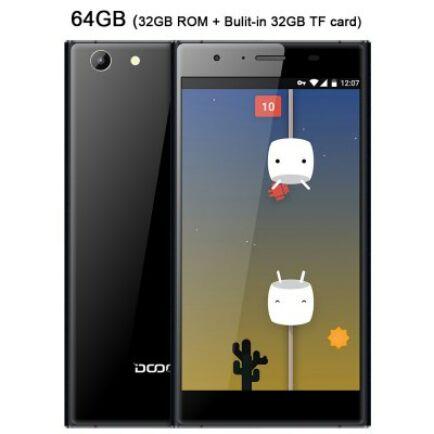 EU4 Raktár - DOOGEE Y300 4G okostelefon - Fehér