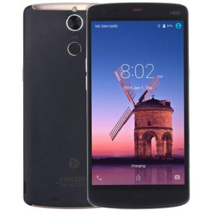 Kingzone Z1 Plus 4G okostelefon - Fekete