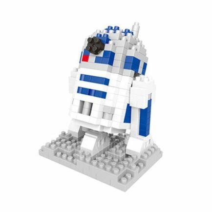 Mini R2 - D2 építőkocka szett (CN) - Fehér