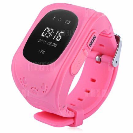 Q50 (q1213) LCD 2G gyermek okosóra telefon - Pink