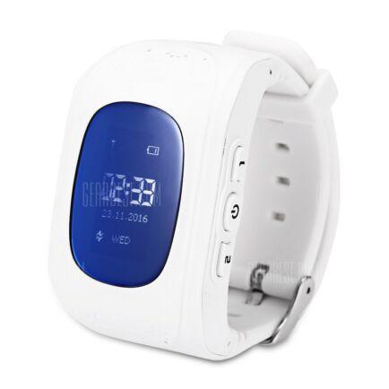Q50 (q1213) LCD 2G gyermek okosóra telefon - Fehér