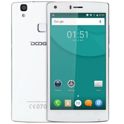 EU4 Raktár - DOOGEE X5 MAX 3G okostelefon - Fehér
