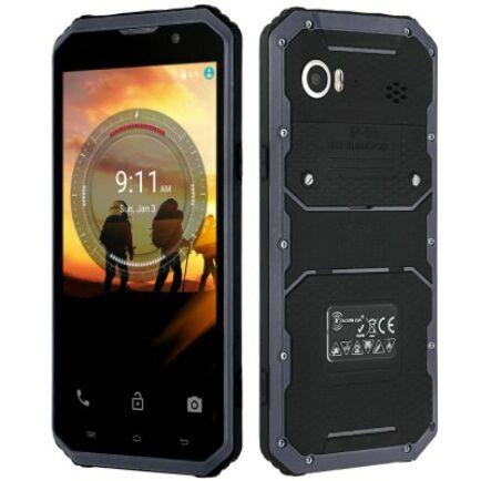 EU ECO Raktár - KENXINDA Proofings W9 4G okostelefon (HK) - Fekete