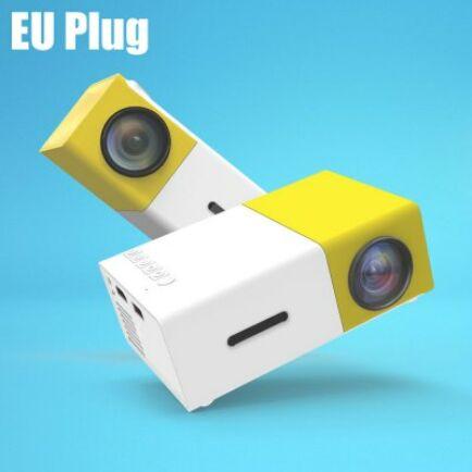 YG-300 LCD projektor EU csatlakozó - Sárga