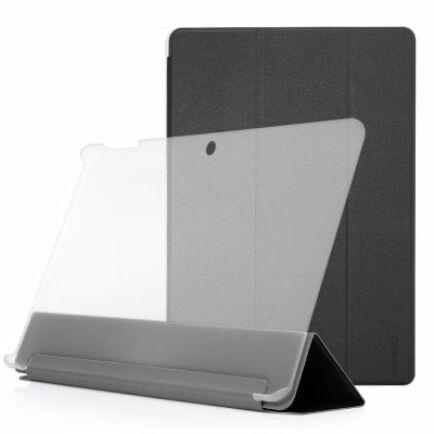 Chuwi Hi12 tablet műbőr tok - Fekete