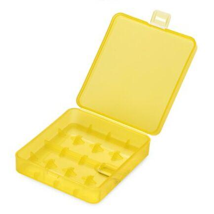 PP akkumulátor tartó doboz - Sárga