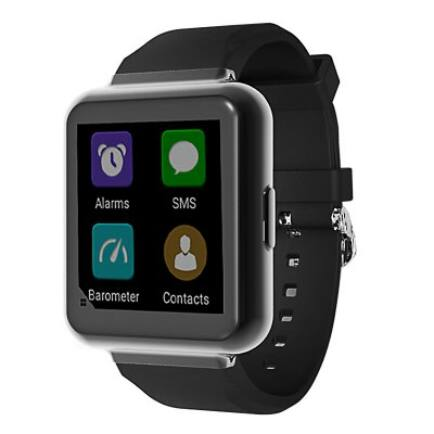 FINOW Q1 3G okosóra telefon - Fekete