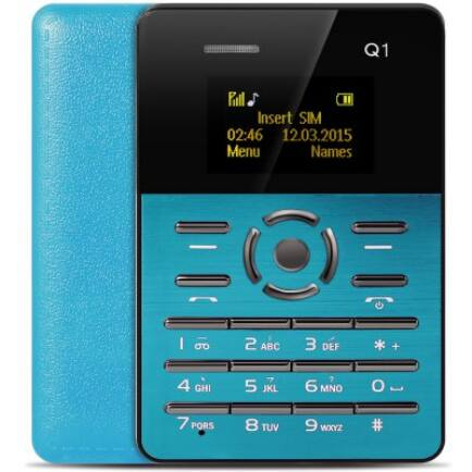 AIEK Q1 mobiltelefon - Kék